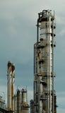 Détail d'une raffinerie 6 Images libres de droits