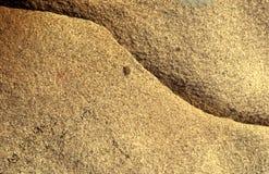 Détail d'une roche Photographie stock