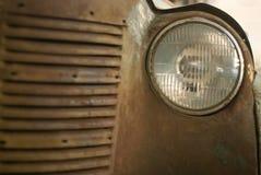 Détail d'une voiture rouillée de vintage photos libres de droits