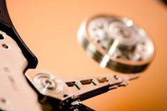 Détail d'unité de disque dur Photos stock
