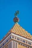 Détail de bâtiment de Bacardi à La Havane photographie stock libre de droits