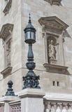 Détail de basilique de rue Stephan, Budapest photo stock