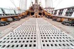Détail de bateau de Galeone Neptune Photos stock
