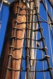 Détail de bateau de navigation Image stock