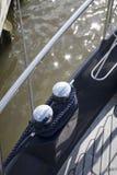 Détail de bateaux Photos stock