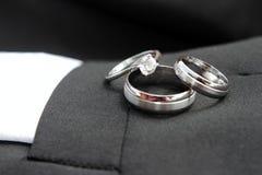 Détail de boucles de mariage Image stock