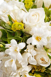 Détail de bouquet de mariage Photos stock