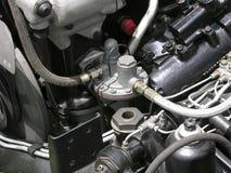 Détail de carburateur d'automobile Photo libre de droits