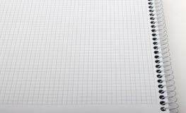 Détail de carnet de graphique Images stock