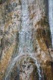 Détail de cascade de Salino Photographie stock libre de droits