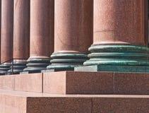 Détail de cathédrale de rue Isaac. St Petersburg Photos stock