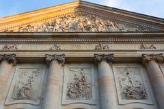 Détail de cathédrale de St Hedwig à Berlin Photographie stock