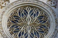 Détail de cathédrale du ` s d'Amiens Images libres de droits