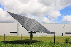 Détail de centrale solaire photographie stock libre de droits