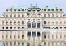 Détail de château de belvédère avec la réflexion photos libres de droits