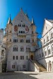 Détail de château de Neuschwanstein   Photo libre de droits