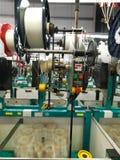 Détail de chaîne de production d'usine d'amorçage Photo libre de droits