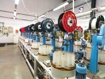 Détail de chaîne de production d'usine d'amorçage Photographie stock