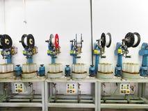 Détail de chaîne de production d'usine d'amorçage Photos libres de droits
