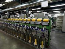 Détail de chaîne de production d'usine d'amorçage Photo stock