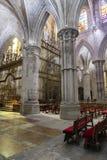 Détail de chambre forte de cathédrale de notre Madame de grâce et de saint Juli Photos libres de droits