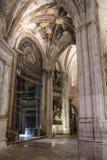 Détail de chambre forte de cathédrale de notre Madame de grâce et de saint Juli Images libres de droits
