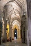 Détail de chambre forte de cathédrale de notre Madame de grâce et de saint Juli Images stock