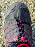 Détail de chaussure Photo stock