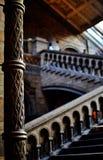 Détail de colonne dans le musée d'histoire Photo libre de droits