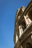 Détail de Colosseum du mur externe Photos stock