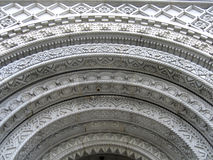 Détail de construction d'architecture Photographie stock libre de droits