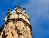 Détail de contrefort de vol de la basilique de St Patrick : Fremantle, Australie occidentale Photos stock