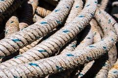 Détail de corde Photographie stock libre de droits