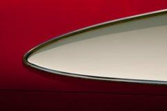 Détail 1957 de corps latéral de pastenague de Corvette Photos libres de droits
