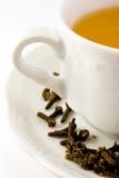 Détail de cuvette de thé Image stock