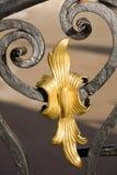 Détail de décoration en métal image libre de droits