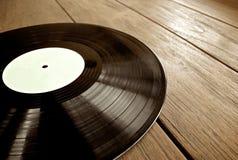 Détail de disque vinyle Images stock
