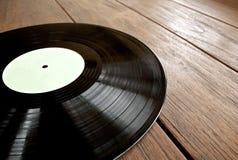 Détail de disque vinyle Photos libres de droits