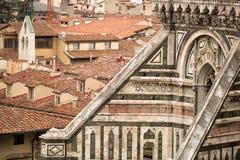 Détail de Duomo de l'IL, Florence Photos stock