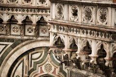 Détail de Duomo de l'IL, Florence Photos libres de droits