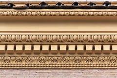 Détail de façade de Vatican Photo libre de droits