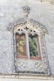 Détail de fenêtre de cathédrale de Baeza, Jaen, Espagne Photo stock