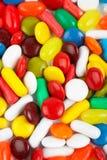 Détail de fond coloré de bonbons Image libre de droits