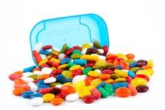Détail de fond coloré de bonbons Image stock