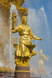 Détail de fontaine Images stock