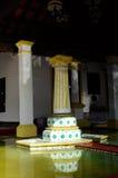 Détail de fontaine chez Masjid Kampung Hulu au Malacca, Malaisie Photographie stock libre de droits
