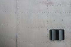 Détail de fuselage de chasseur Photographie stock