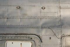 Détail de fuselage de chasseur Photos stock