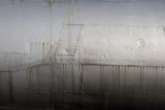Détail de fuselage de chasseur Image libre de droits