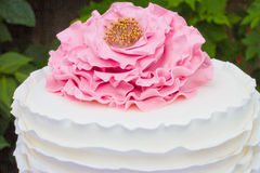 Détail de gâteau Images stock